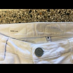 "Kut from the Kloth Jeans - KUT from the Kloth White ""Selena"" Flare Jeans"